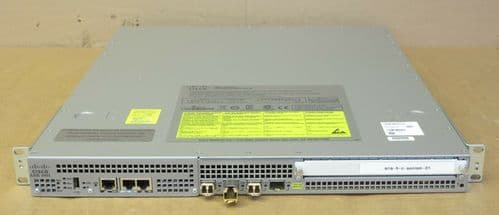 Cisco ASR 1001 Aggregation Services Router Managed 1U Dual PSU Permanent ipbase